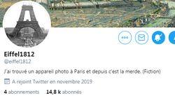 """Le compte Twitter Eiffel1812 cache-t-il une opération marketing """"Star"""