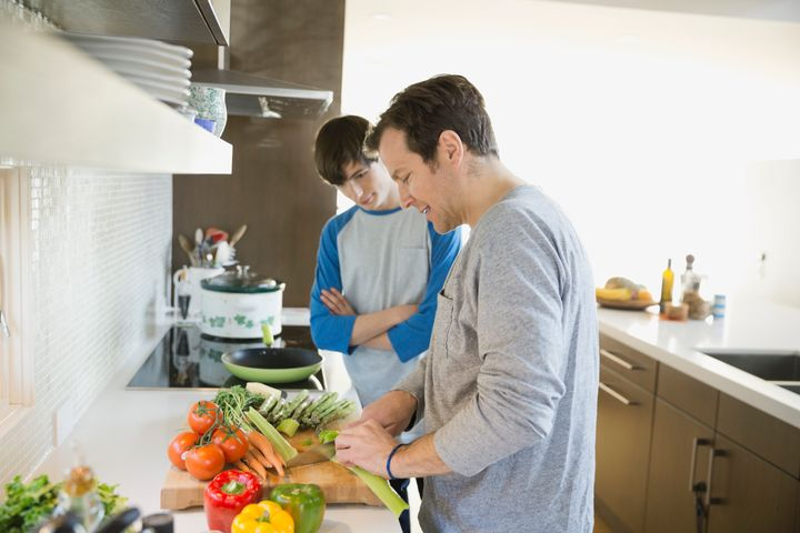Parents can have these talks with their kids while driving or cooking a meal together.
