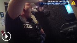 Η συγκινητική στιγμή που η αστυνομία σώζει ένα κοριτσάκι από τον απαγωγέα