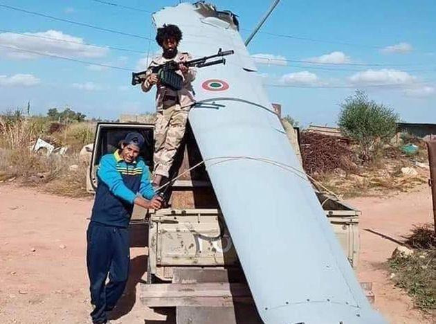 Drone italiano precipita in Libia. Incertezza sulle cause: &