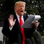 Trump's Super-Sized Press Notes Have Become Twitter's New Favorite