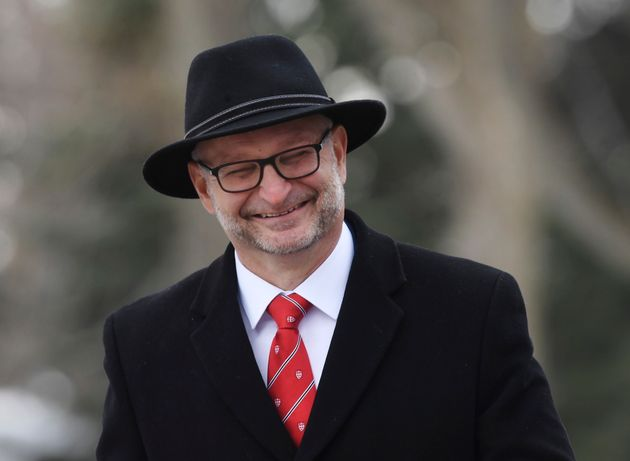 Liberal MP David Lametti arrives for the cabinet swearing-in ceremony in Ottawa on
