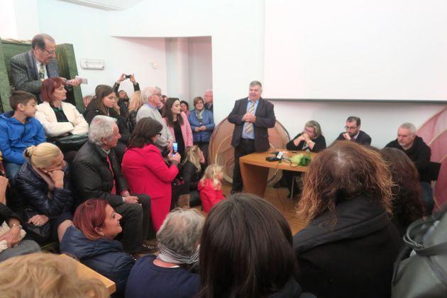 Inaugurazione della mostra,Donna vede donnaal Museo della Pesca e del Lago Trasimeno, San Feliciano,...