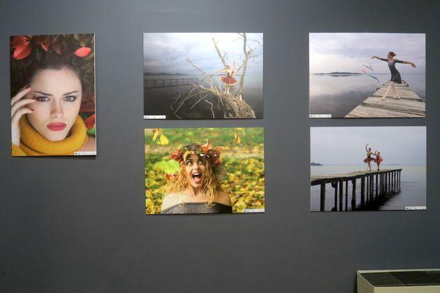 Fotografie di Renilda Zajmi, In simbiosi... donna e