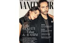 """Leïla Bekhti et Tahar Rahim posent pour le première fois ensemble en Une de """"Vanity"""