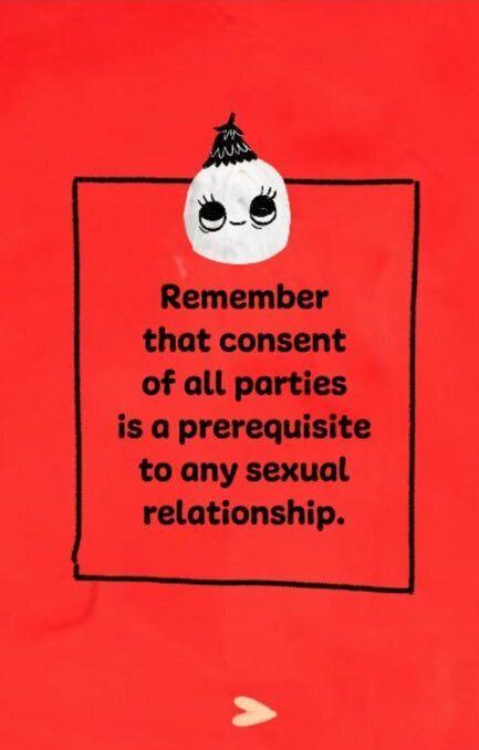 성적 관계에서는 동의가 언제나 우선임을 잊지