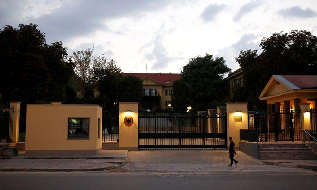 Η γερμανική πρεσβεία...