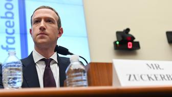 Facebook Chairman and CEO Mark Zuckerberg testifies at a House Financial Services Committee hearing in Washington, U.S., October 23, 2019. REUTERS/Erin Scott