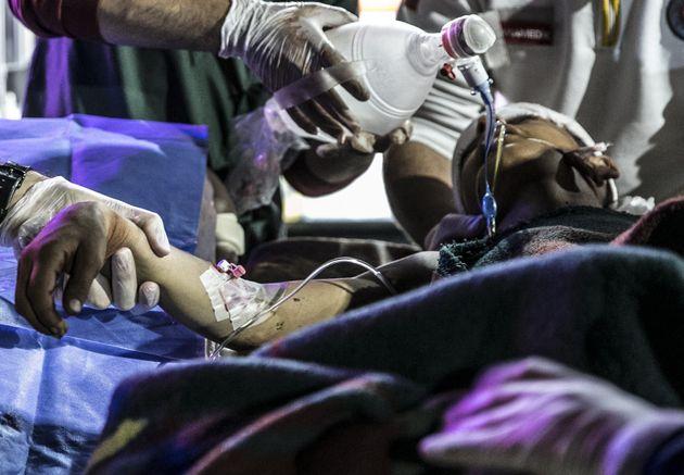 Τουλάχιστον 10 παιδιά νεκρά σε βομβαρδισμούς του Άσαντ στο Ινλτίμπ της