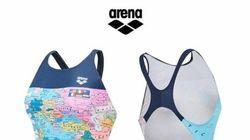 아레나코리아가 '일본해 표기 수영복' 논란에