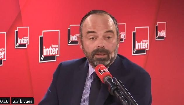 Edouard Philippe au micro de France Inter, le 21 novembre