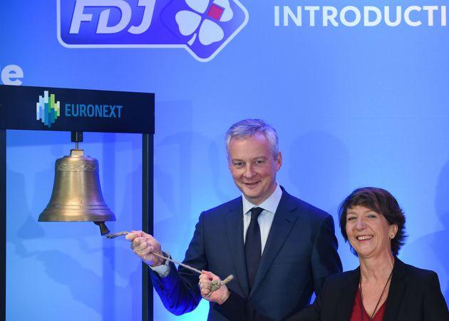 L'action FDJ prend plus de 15% dès son introduction en bourse
