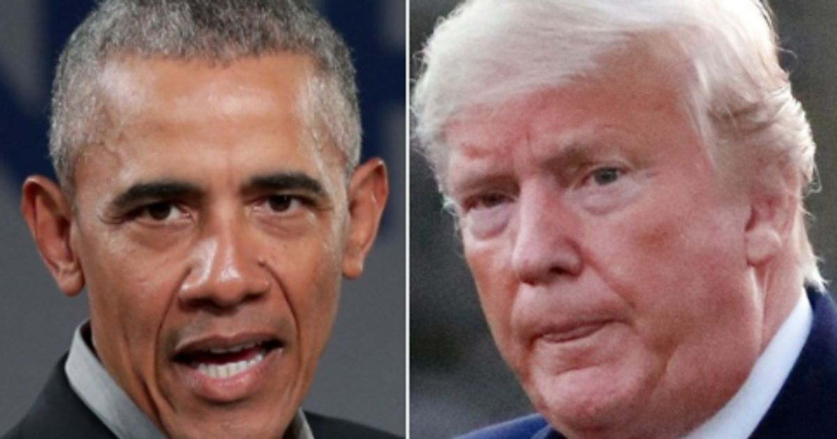 Barack Obama Takes Rare Public Swipe At Donald Trump Over Coronavirus Response image