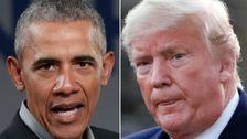 Obama Fotograf Sticheleien Trump Mit Reminiszenz Handschriftliche Notizen Snap
