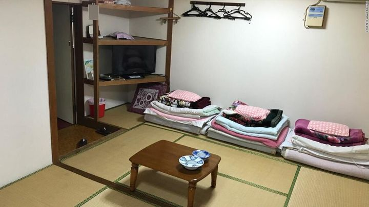 Pour moins de deux dollars, le Asahi Ryokan Hotel vous permet dormir au chaud à une seule condition: accepter d'être filmé pendant 24 heures.