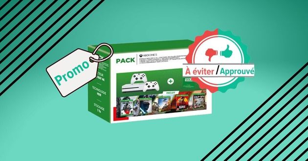 Un pack Xbox One S est vendu à 299€ chez Fnac: bon plan ou