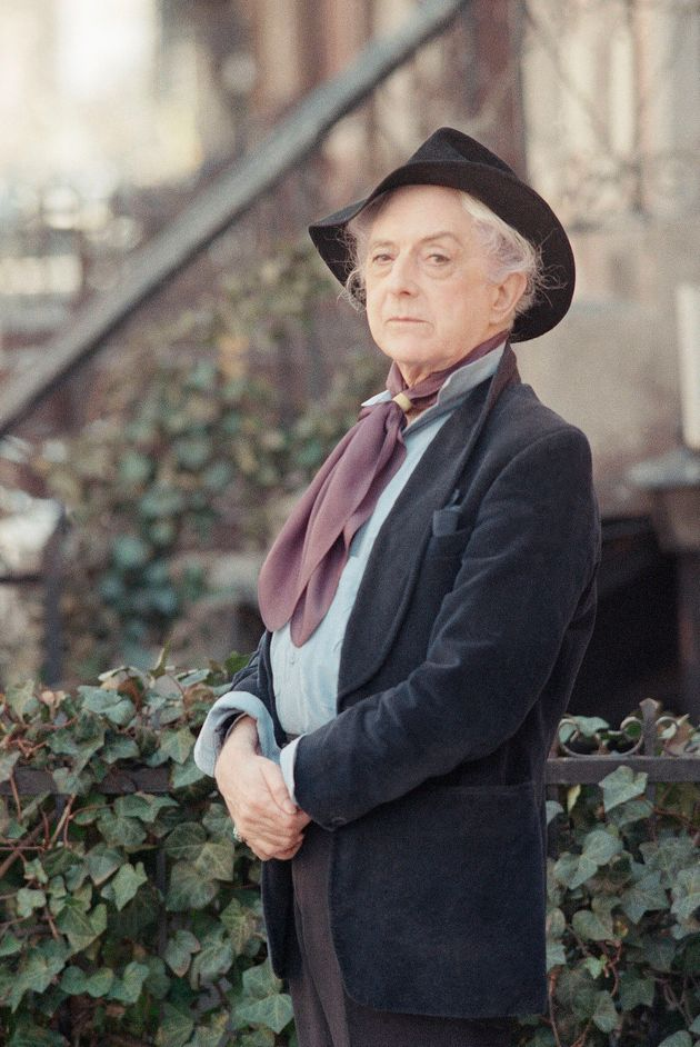 British actor and author Quentin Crisp photographed in