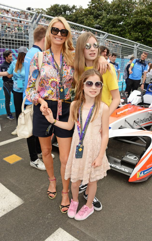 Tess with her daughters Phoebe and