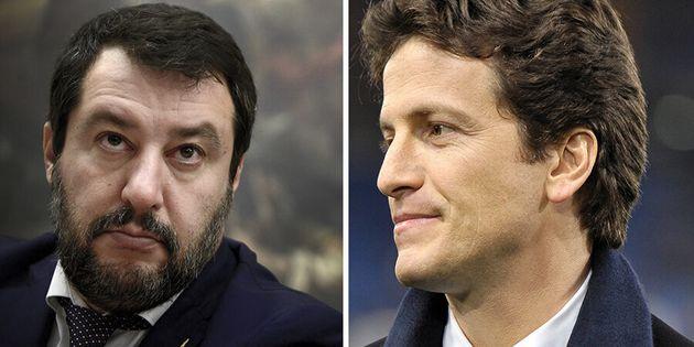 """Matteo Salvini: """"Ceno con tanti, con Parnasi sono andat"""