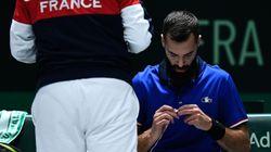 Paire balayé par Djokovic, la France déjà éliminée de la Coupe