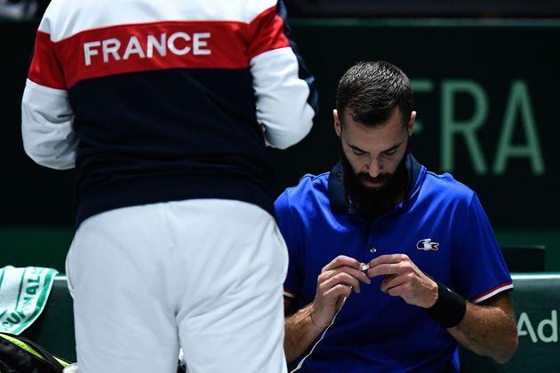 Opposé à Novak Djokovic et à la Serbie en Coupe Davis, Benoît Paire s'est...