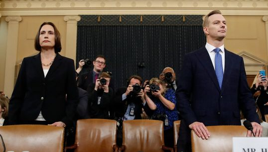 Live Updates From Trump Impeachment Hearing As More Insiders