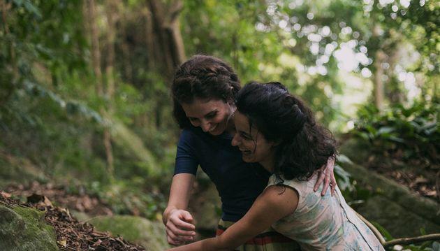 Eurídice (Carol Duarte) e Guida (Julia Stockler) no quase místico Rio de Janeiro da década...