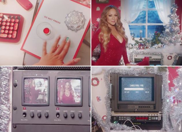 A few snapshots of Mariah Carey's incredible new festive