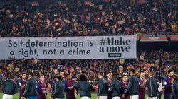 Tsunami Democràtic quiere 'jugar' el Clásico y pide a Barça y Madrid colocar una gran pancarta