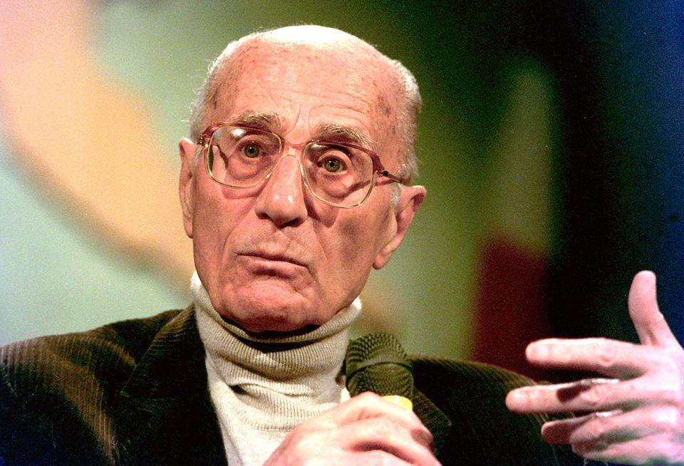 Indro Montanelli in una foto