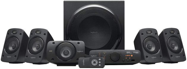 Ηχεία Logitech Z906 5.1 Surround Sound Speaker System,