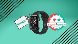 Pour la Black Friday Week, l'Apple Watch Series 4 en promo sur Amazon, on valide ou