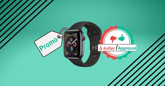 Pour la Black Friday Week, l'Apple Watch Series 4 en promo sur Amazon vaut-elle le