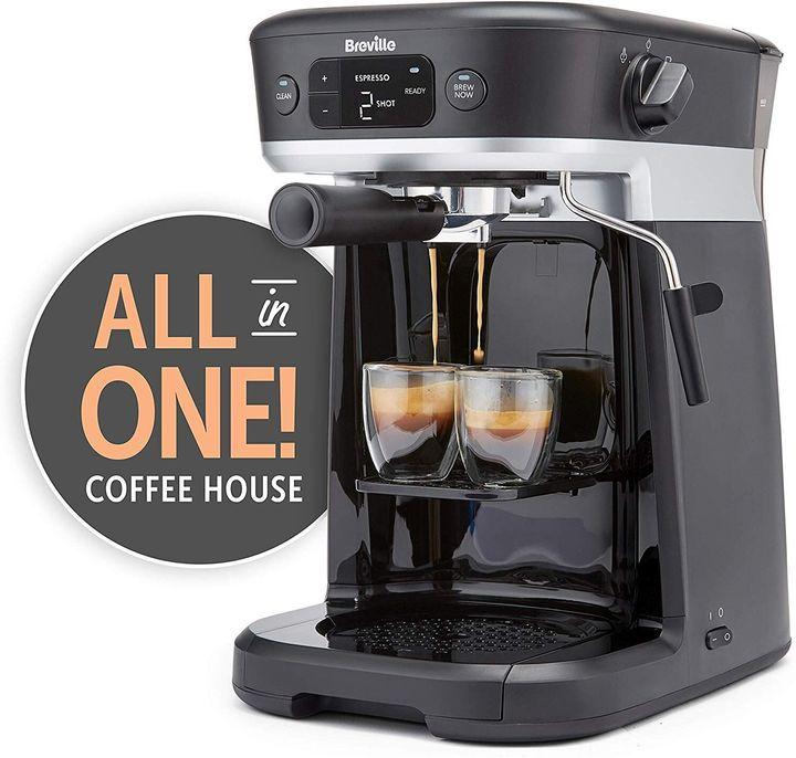 Καφετιέρα Breville All-in-One Coffee House, Amazon