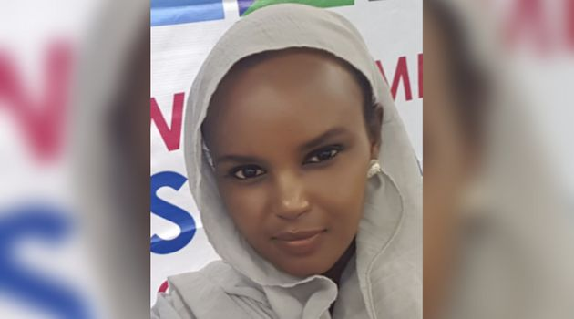 Almaas Elman, a Somali-Canadian human rights activist, is seen here in a photo uploaded to her Twitter...