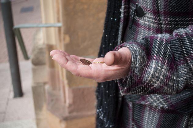 Un mendiant (photo