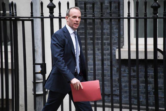 Britain's Foreign Secretary Dominic