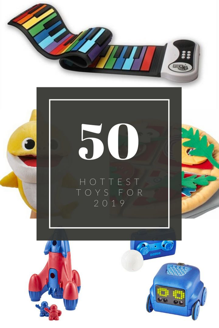 For your Christmas gift giving needs — the 50 hottest toys of the year.