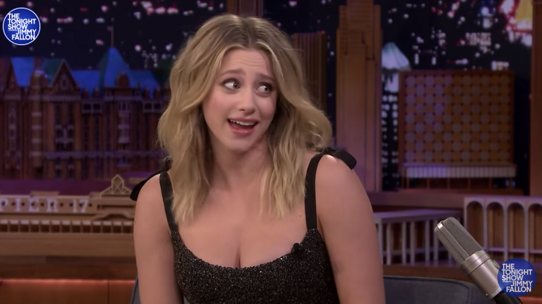 Lili Reinhart Clears Up Comments On Fallon, Says She Actually Has OCD