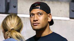 Sanctionné pour homophobie, ce rugbyman australien donne