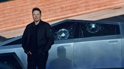 Tesla's Electric Pickup Truck Unveiling Goes Awry, 2 Windows Break During