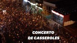 Concert de casseroles en Colombie contre la politique du président Ivan