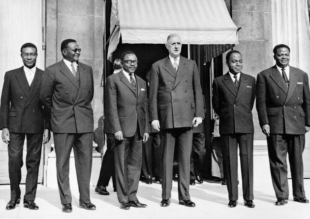 Sous la présidence du général de Gaulle, une large partie de l'ancien empire colonial...
