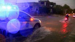 Διακοπή κυκλοφορίας σε επαρχιακούς δρόμους της Χαλκιδικής από την