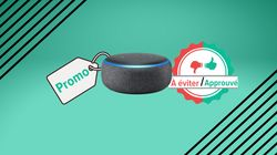 L'enceinte Amazon Echo Dot 3 à 22€ pour la Black Friday Week, bon plan ou