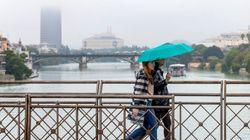 Tiempo: 15 comunidades en alerta por lluvia, nieve, viento, oleaje y