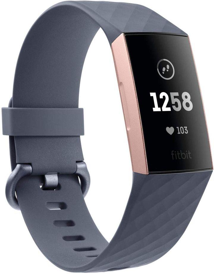 Αθλητικό Ρολόι Fitbit Charge 3 Advanced Fitness Tracker, Amazon