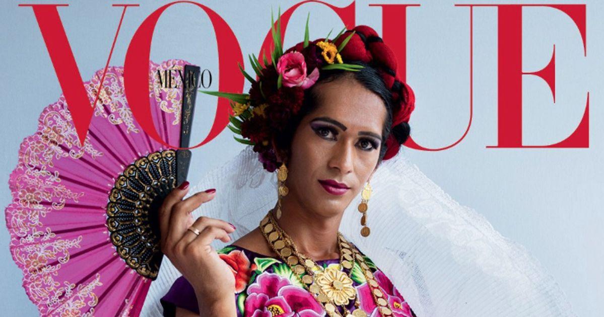 """""""Vogue"""" Mexique met une femme indigène transgenre en Une, une grande première"""