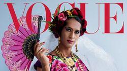 Une femme indigène transgenre en Une de