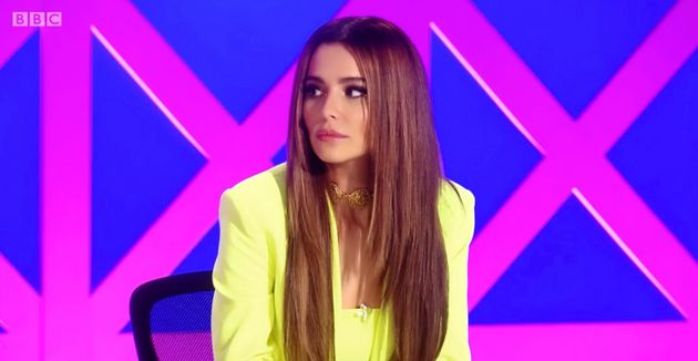 Cheryl was appearing as a guest